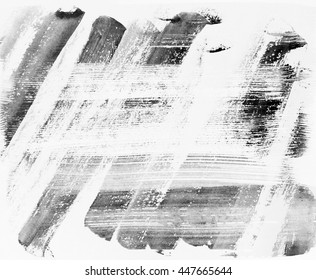 Abstract grunge background. Ink texture on paper