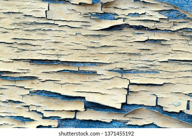 Abstract grunge background from old damaged paint covering