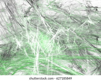 Abstract grunge dirty green background on white backdrop. Grime pattern texture.