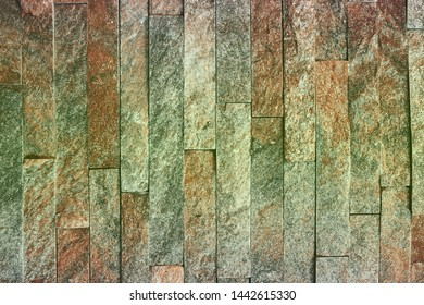 abstract grunge natural quartzite stone bricks texture for use as background.