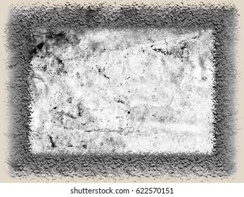 Abstract grunge texture black and white color for text