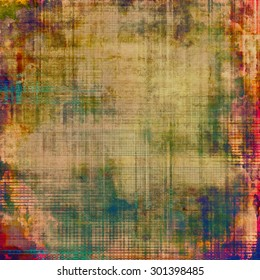 Abstract grunge textured background. With different color patterns: brown; purple (violet); green; blue