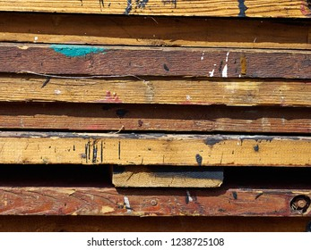 Abstract grunge wood paint texture great background image in bright colors