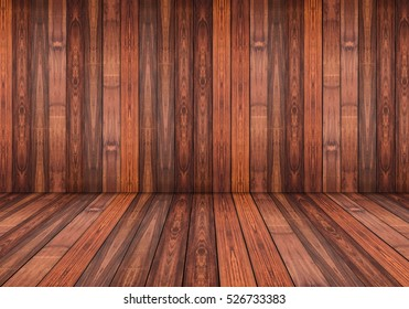 Abstract grunge wood panels used as background