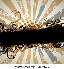 an abstract grungy vintage background for design