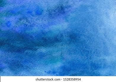 Abstrakter, handgemalt, dunkelblauer Hintergrund