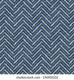 Abstract herringbone textured background. Seamless pattern.
