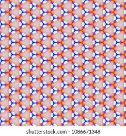 abstract hexagon pattern