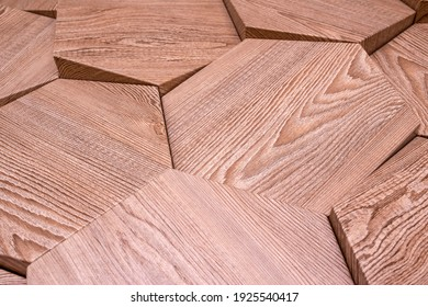 abstract home decorative wooden wall and floor design background, 3D shape wooden background.