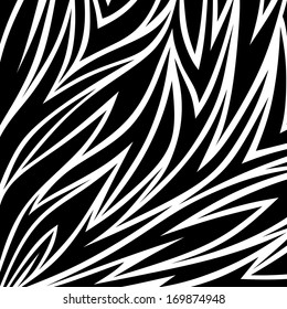 abstract illustration of animal fur with eye-catching pattern