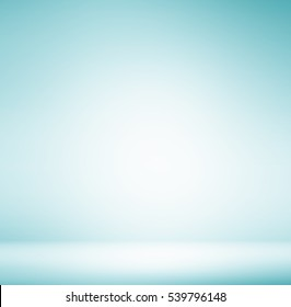 Abstract illustration background texture of beauty dark and light clear black, blue, cold gray, snowy white gradient flat wall and floor in empty spacious room winter interior