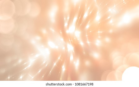 abstract illustration blur beige background with defocused bokeh