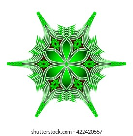 abstract illustration of flower