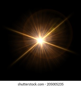 Abstract image of  lighting flare. Background. Abstract