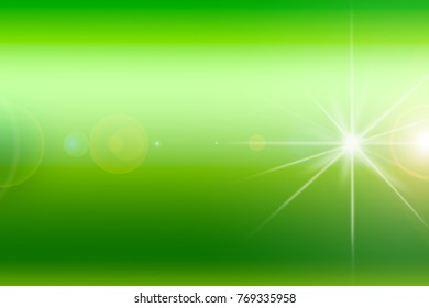 abstract image of lighting flare over dark and shiny color background. Image for fantastic or bright color design