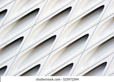 Abstract image of modern architectural design.