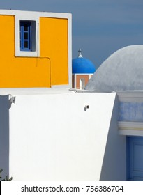 Abstract image from Santorini, Greece