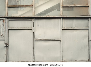 Abstract industrial wall texture background. Soft warm light.