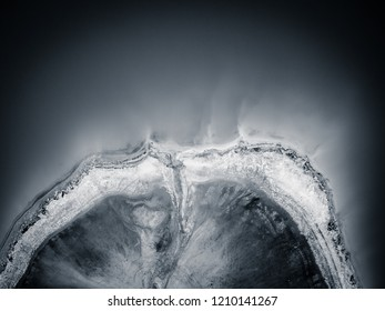 Abstract lake top view, duotone fantasy pattern background