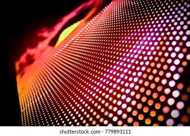 Abstract LED Panel art