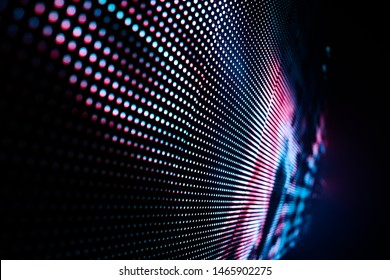 abstract led soft focus background