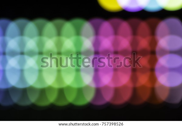 abstract LEDs light moudule with pastele light