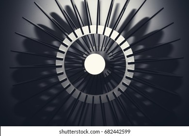 abstract light background, geometric structure