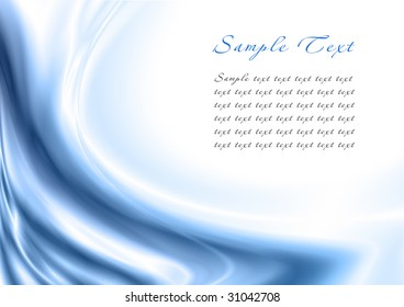 Abstract light blue background with copy space