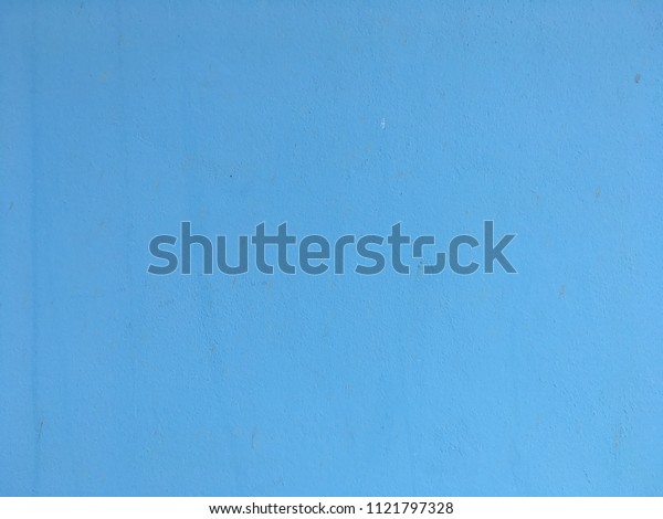 Abstract light blue concrete wall background and texture