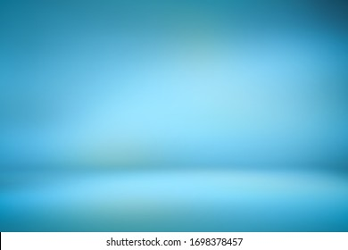 Abstract light blue template background. Picture can used web ad. blank space dark gradient wall for graphic design backdrop or add text.