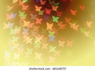 Abstract light bokeh background, light bokeh background