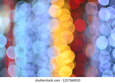 Abstract light bokeh  background for business card and holiday background. can used for Happy New Year and Christmas card. copy space for text. colorful background .