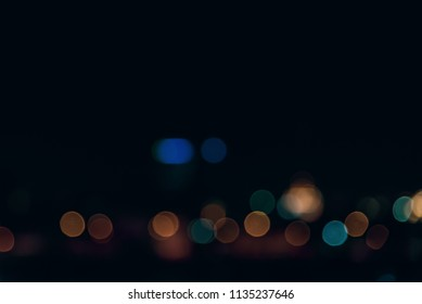 Abstract light bokhe Background.