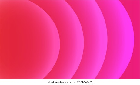 Abstract light circle background