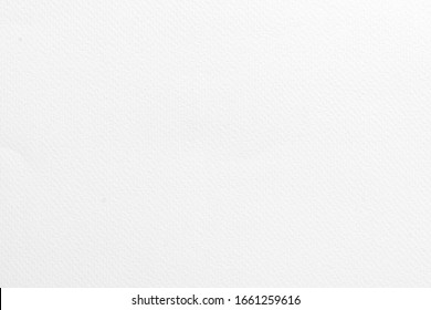 Abstract light clean white watercolor recycled paper book background. Old grain gray color wall texture with blank sheet for scrapbook painting, cardboard note. Grey rough back tissue carton.