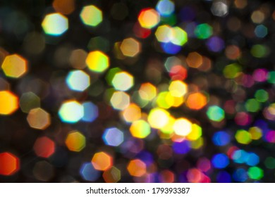 Abstract light effects background