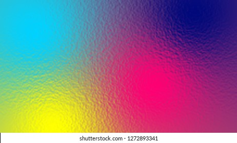 Abstract light neon soft glass background texture in pastel colorful gradation.