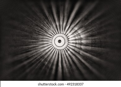 abstract light. Light on wall