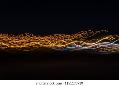 Abstract light photographs