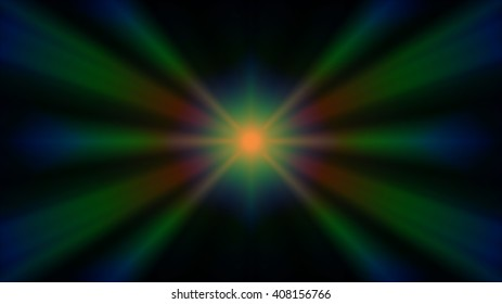 Abstract light rays background