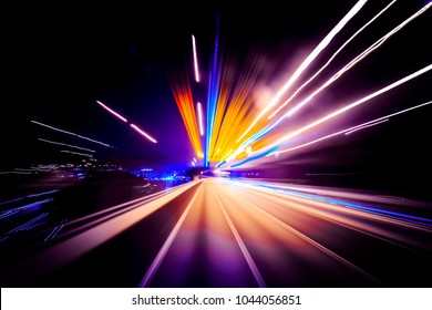 Abstract Light Tail Background