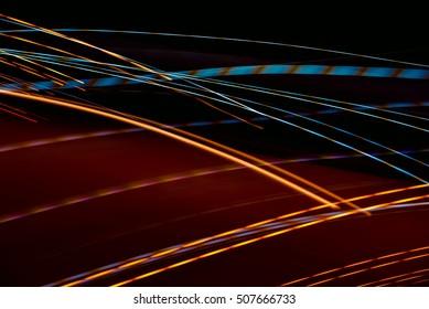 Abstract light,Light line,Light Colour,Night light