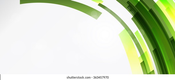 Abstract lines background with colored elements. Banner. Lines, wave.