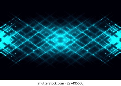 Abstract lines. Abstract geometrical background neon lines