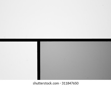 Abstract Lines on Wall Background