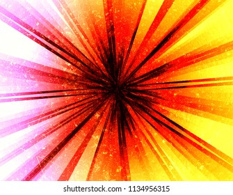abstract lines texture background with lights and rays