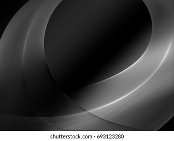 Abstract luminous gray and black background