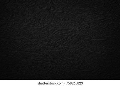 Abstract luxury leather black texture for background. Dark gray leather for design