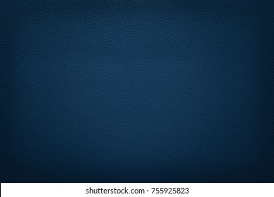 Abstract luxury leather texture for background. Dark blue leather for design