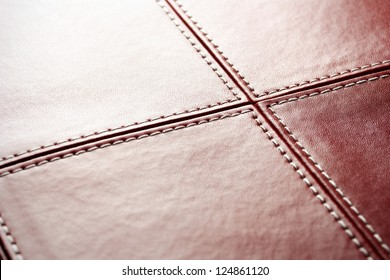 Abstract luxury red leather background